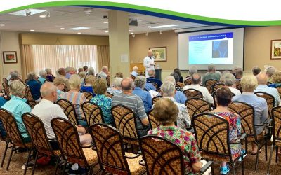 Dr. Ameglio Shares at Shell Point Retirement Community